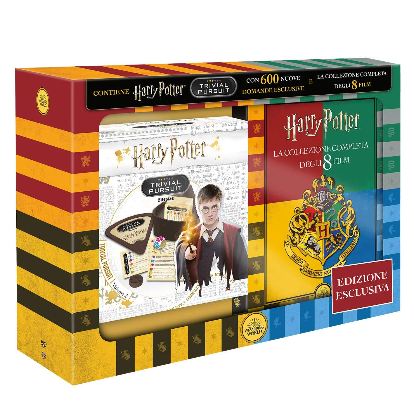 Harry Potter 8 Film DVD Collection & Trivial Pursuit