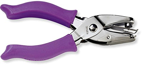 Fiskars Perforatore a pinza, Punzonatore per fare cerchi di medie dimensioni, Per mancini e destrorsi, 1003817