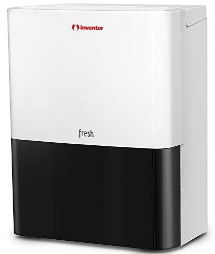 Inventor Fresh, Deumidificatore Portatile (capacità di 12L/24h - Adatto Fino a 30 m2) con Nuovo Gas Refrigerante R290 - Deumidificazione Continua, Modalità Silent,Avvio Automatico,(2) Anni di Garanzia