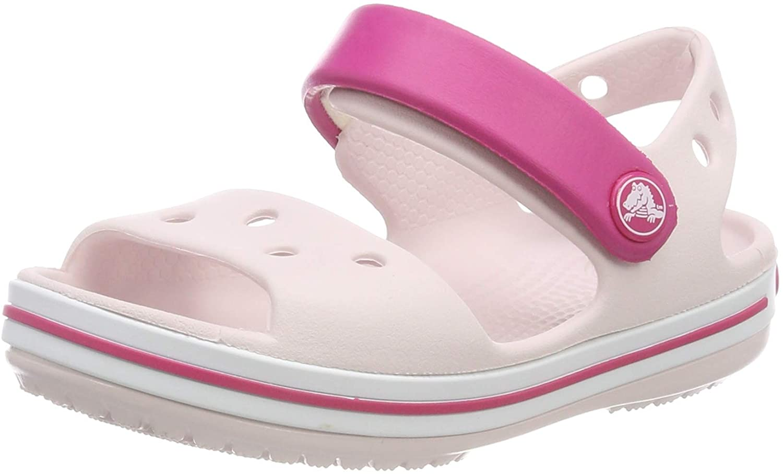 Crocs Crocband Kids, Sandali con Cinturino alla Caviglia Unisex – Bambini