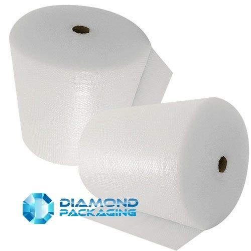 Diamante confezione 1x piccolo rotolo di pluriball | Dimensioni–Larghezza 600mm x lunghezza 100m | Strong enough ideale per traslochi