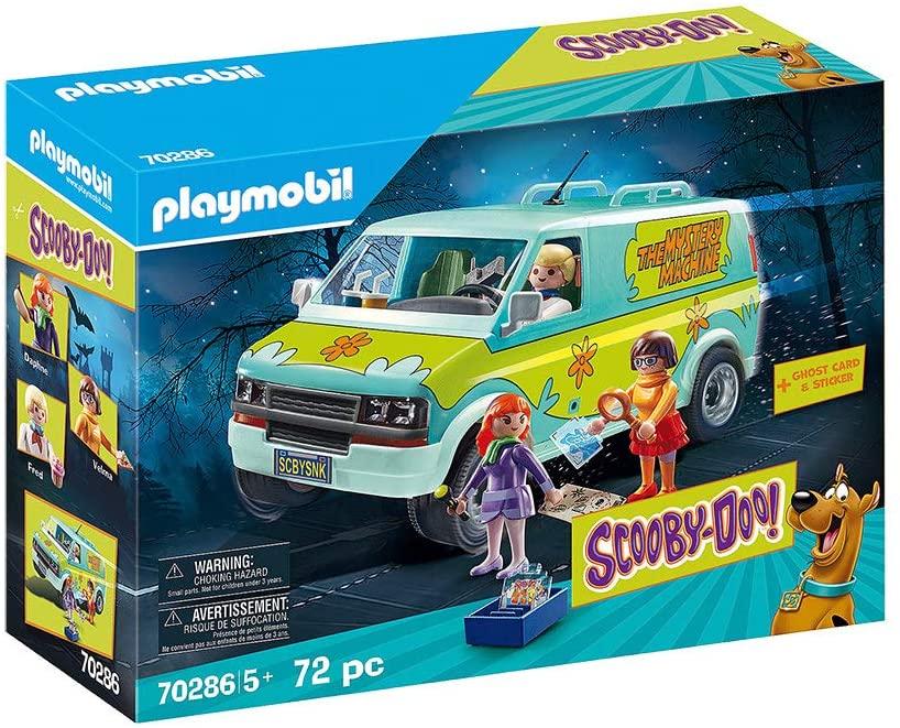 Playmobil SCOOBY-DOO! 70286 - Playset con Figure e Veicolo, dai 5 anni