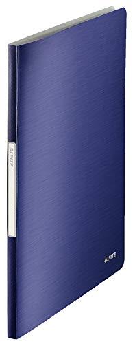 LEITZ STYLE portalistino a fogli fissi 40 buste - Blu titanio - 39590069