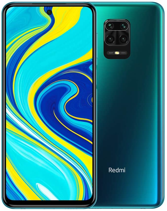 "Xiaomi Redmi Note 9S 6GB 128GB Quad camera AI 48MP 6.67""FHD+ 5020mAh Tipo 18W ricarica rapida Aurora Blue"