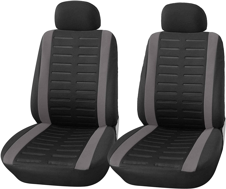Upgrade4cars Coprisedili Auto Anteriore Universali Nero ...