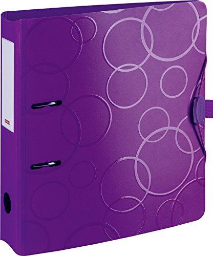 Brunnen Colour Code Raccoglitore in plastica resistente, in polyfoam 7 cm R\x{00FC}ckenbreite violett