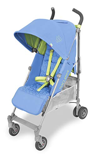Maclaren Passeggino Quest - Super accessoriato, leggero, compatto. Newborn Safety System™, compatibile con la Culla portatile Maclaren, cappottina estensibile UPF 50+/impermeabile, accessori inclusi.