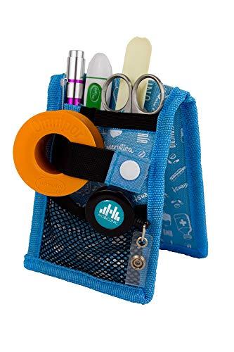 Mobiclinic, MINIKEEN'S, Organizer, Infermieristica, Blu con stampe