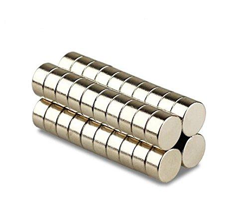 Magnetastico®   5 pezzi magneti al neodimio N52 dischi 20x10 mm   Magneti molto forti   Supermagnete al neodimio Magnete permanente Calamita ultra forte