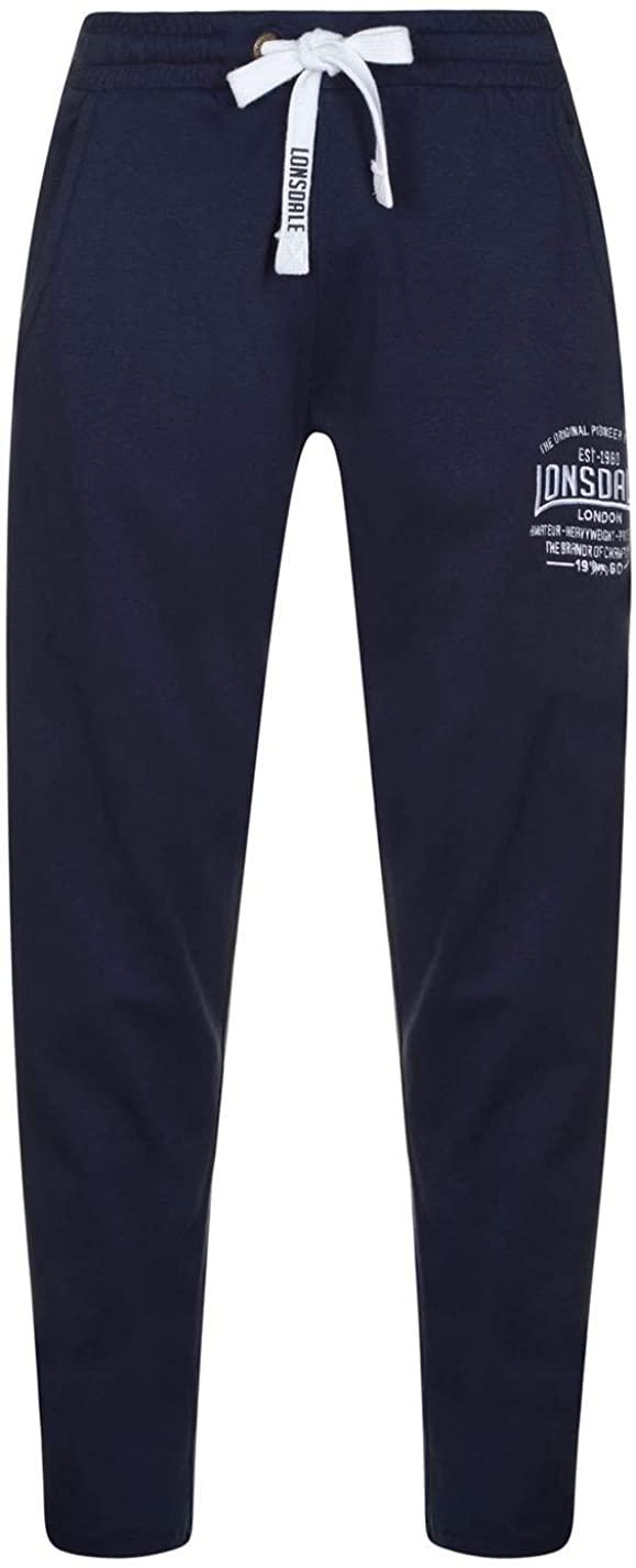 Lonsdale uomo box leggero pantaloni da boxe pantaloni da jogging