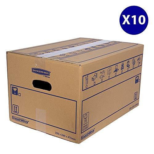 Bankers Box 6207201 Scatola per Traslochi, 32 x 26 x 47 cm