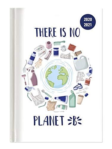 Alpha Edition Diario Agenda Scuola Collegetimer 2020/2021, Giornaliera, Formato 15x21 cm, Planet B, 352 pagine