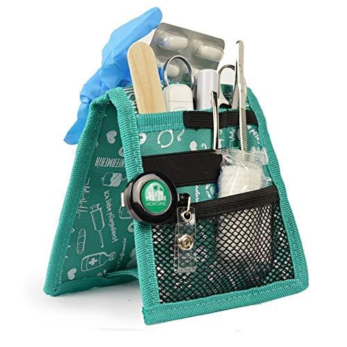 Elite Bags, Keen's, Organizer, Organizer da taschino, Assistenza infermieristica, Verde