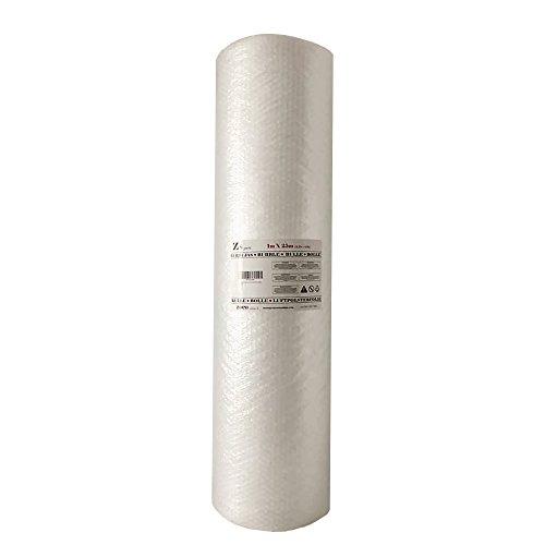 Zs Products - Rotolo di pluriball Larghezza 1m. x lungo 25 m. per imballaggio, trasporto e trasloco, di qualità europea.
