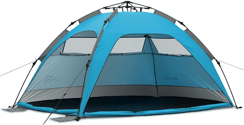 Qeedo Quick Palm Tenda da Spiaggia Montaggio rapido (Quick-Up-System) con UV-Protezione
