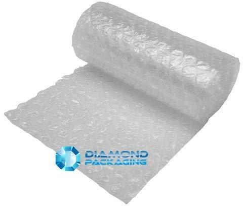 Diamante confezione 1x grande rotolo di pluriball | Dimensioni–Larghezza 300mm x lunghezza 10m | Strong enough ideale per traslochi