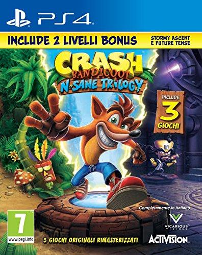 Crash Bandicoot N.Sane Trilogy + 2 Livelli Bonus - PlayStation 4