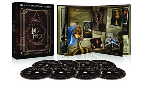 Harry Potter Magical Collection (8 DVD) - Cofanetto con Copertina in Similpelle, Edizione Digibook (32 pagine)