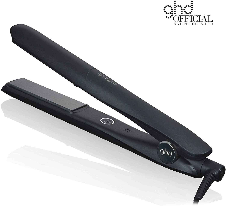 Ghd Gold Professional Styler Piastra professionale per capelli, Dual zone technology per prestazioni elevate, Temperatura ottimale di styling di 185°C