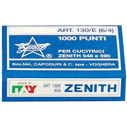 5 x Zenith - Punti universali Zenith - Punti metallici 130/E (6/4) - 130/E (conf.50000) - codice 130/E