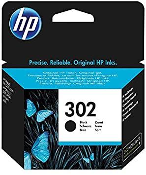 HP 302 F6U66AE Cartuccia Originale per Stampanti a Getto di Inchiostro, Compatibile con DeskJet 1110, 2130 e 3630, HP OfficeJet 3830 e 4650, HP ENVY 4520, Nero