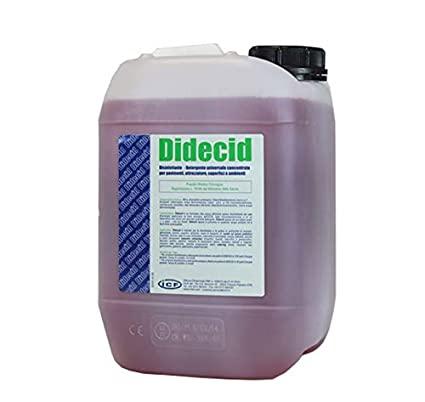Disinfettante Didecid Detergente Universale Monoetanolammina 5 Litri