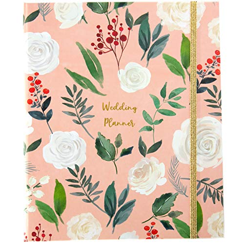 Lusso UK wedding planner Book | Beautiful souvenir regalo di fidanzamento perfetto per coppie | Ideale per souvenir Millennial Pink