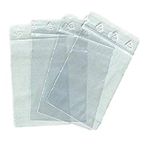 1000 borsa con cerniera 40 x 60 sacchi di chiusura mm zip 4 x 6 cm chiusura a scatto norma CEE coerente alimentairet congelamento