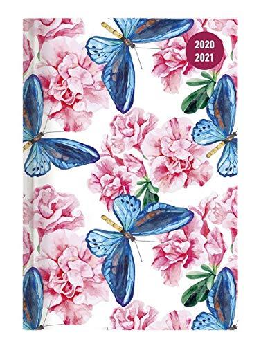 Alpha Edition Diario Agenda Scuola Collegetimer 2020/2021, Giornaliera, Formato 15x21 cm, Farfalla, 352 pagine