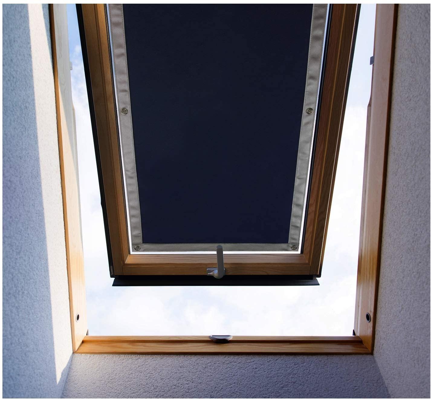 Purovi® Tenda Oscurante Termica per LUCERNARI | Protegge dal Calore | Varie Misure | 48 x 120 cm - Compatibile con finestre VELUX FK08