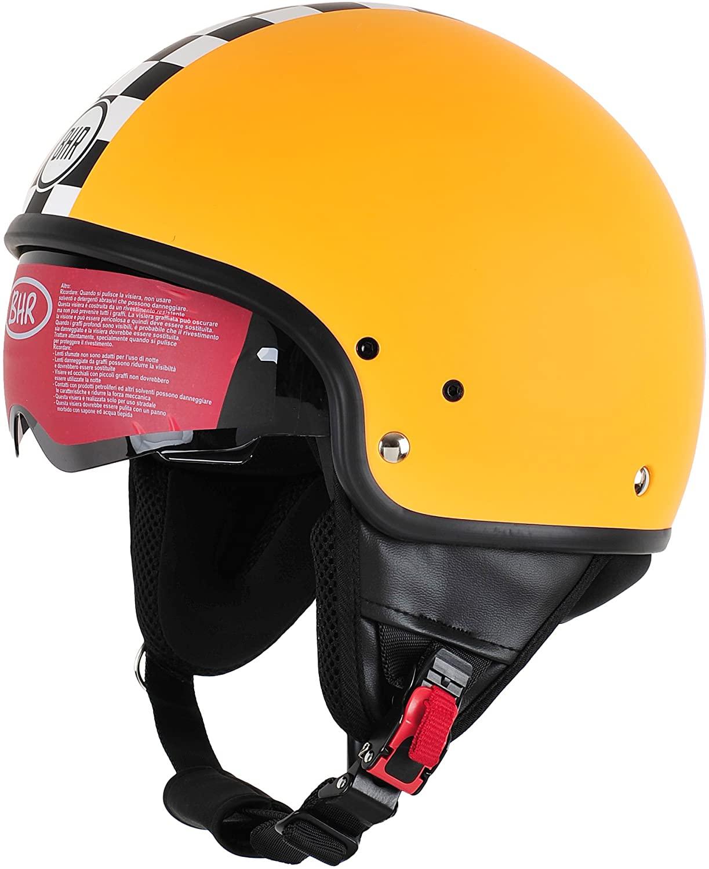 BHR 94172 Casco Uomo Pure, Arancione (Orange Racing) Racing, XS (53/54 cm)