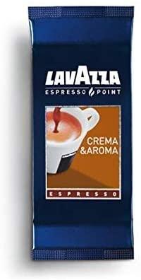 Lavazza Espresso Point, Capsule Caffè Crema&Aroma, 50 Astucci da 2 Capsule, 100 Capsule
