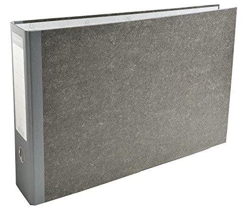 Exacompta 53810E Raccoglitore a leva carta marmoriz A3 Dorso 80mm