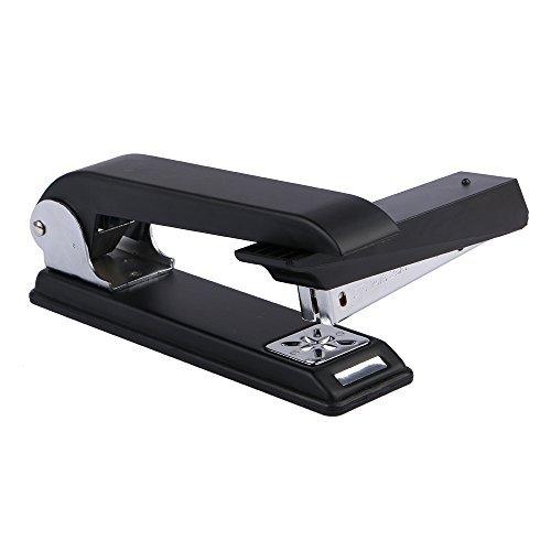 Eagle - Cucitrice girevole con braccio oscillante, capacità 12 fogli, specializzata per spillatura di opuscoli, colore: Nero