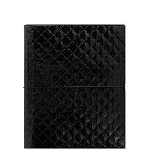 Filofax Domino Luxe - Agenda organiser, formato A5, colore: nero