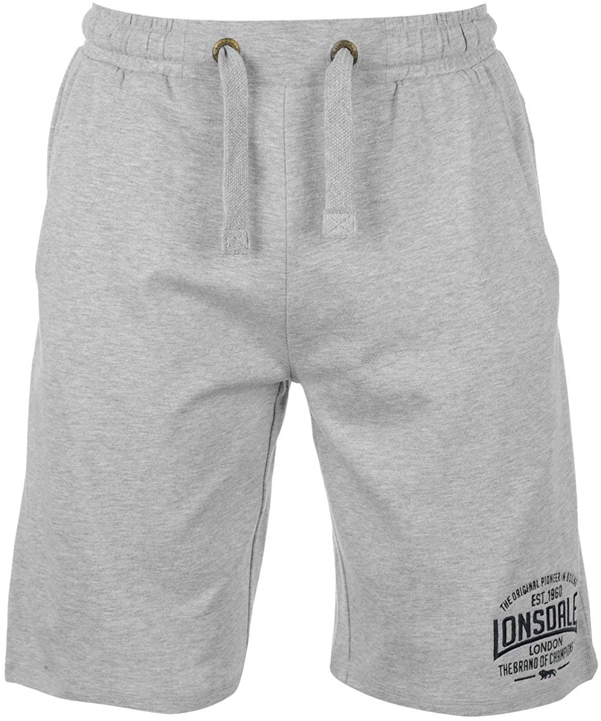 Lonsdale, pantaloncini leggeri da uomo, per sport da combattimento (box)