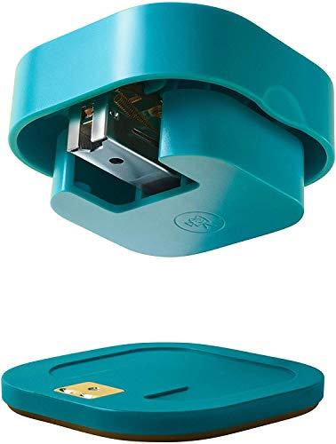 Quirky Align Cucitrice meccanica staccabile per uso domestico e in ufficio, blu