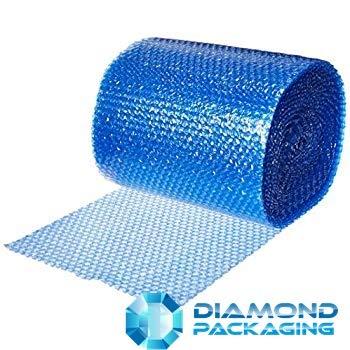 Diamond Packaging - Rotolo di pluriball antistatico blu, dimensioni: 300 mm x 10 m, ideale per fornire protezione fisica in transito tramite elettrostatico