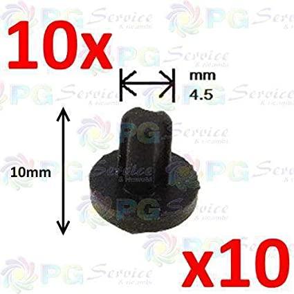 Whirlpool Ignis 10x gommino piedino gomma griglie ghiere supporti piano cottura