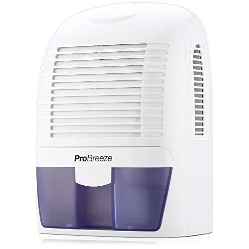 Pro Breeze PB-03-EU, Mini Deumidificatore per ambienti, contro umidità e muffa in casa, bagno, camera da letto o roulotte, 1500 ml