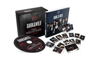 BTS 1st Album [DARK & WILD] CD + PhotoCard + PhotoBook + PostCard BAGNTAN (1. BTS [DARK & WILD])