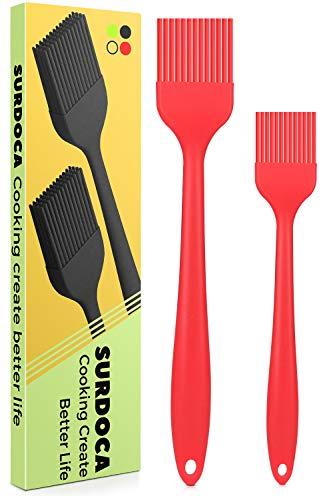 SURDOCA Pennello Cucina pennelli Silicone Cucina, 8.2