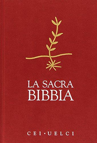 La Sacra Bibbia. UELCI. Versione ufficiale della Cei [Copertine Assortiti]