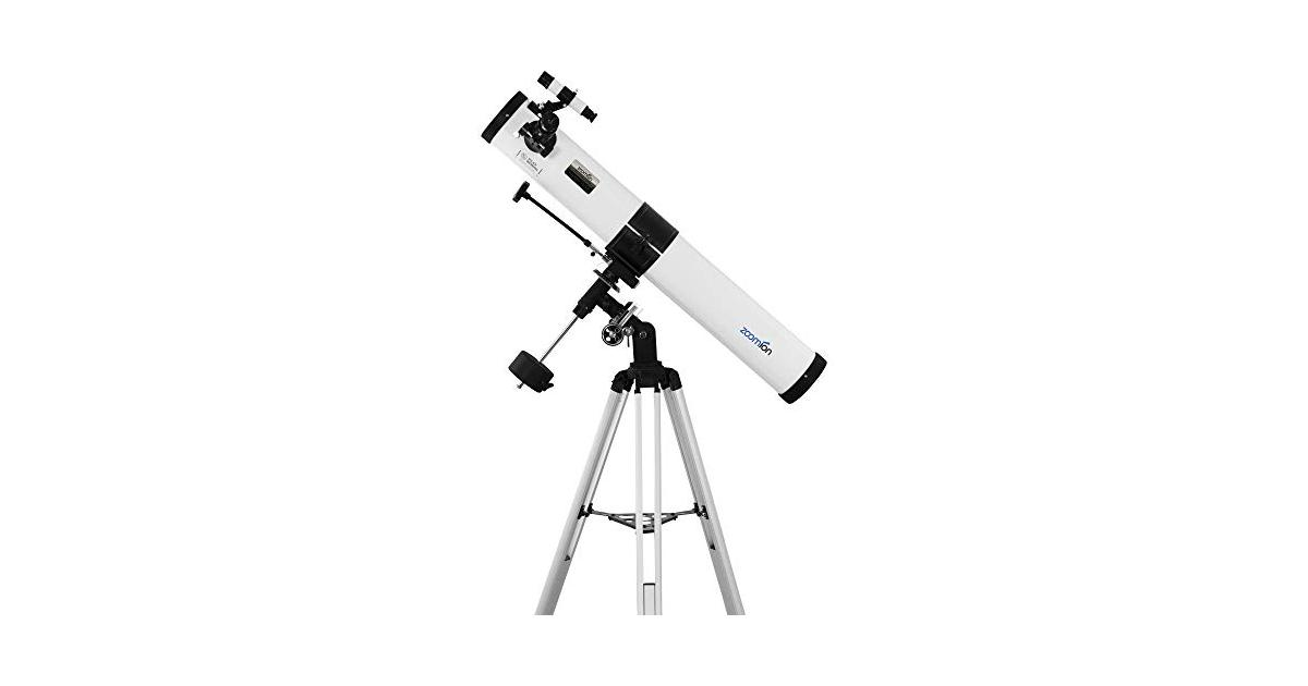 Chinese 114mm/4.5inch newtonian equatorial reflector