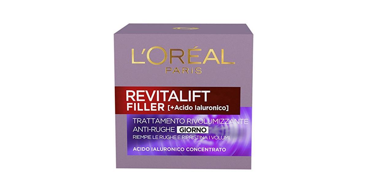 L'Oréal Paris Crema Viso Giorno Revitalift Filler, Azione..